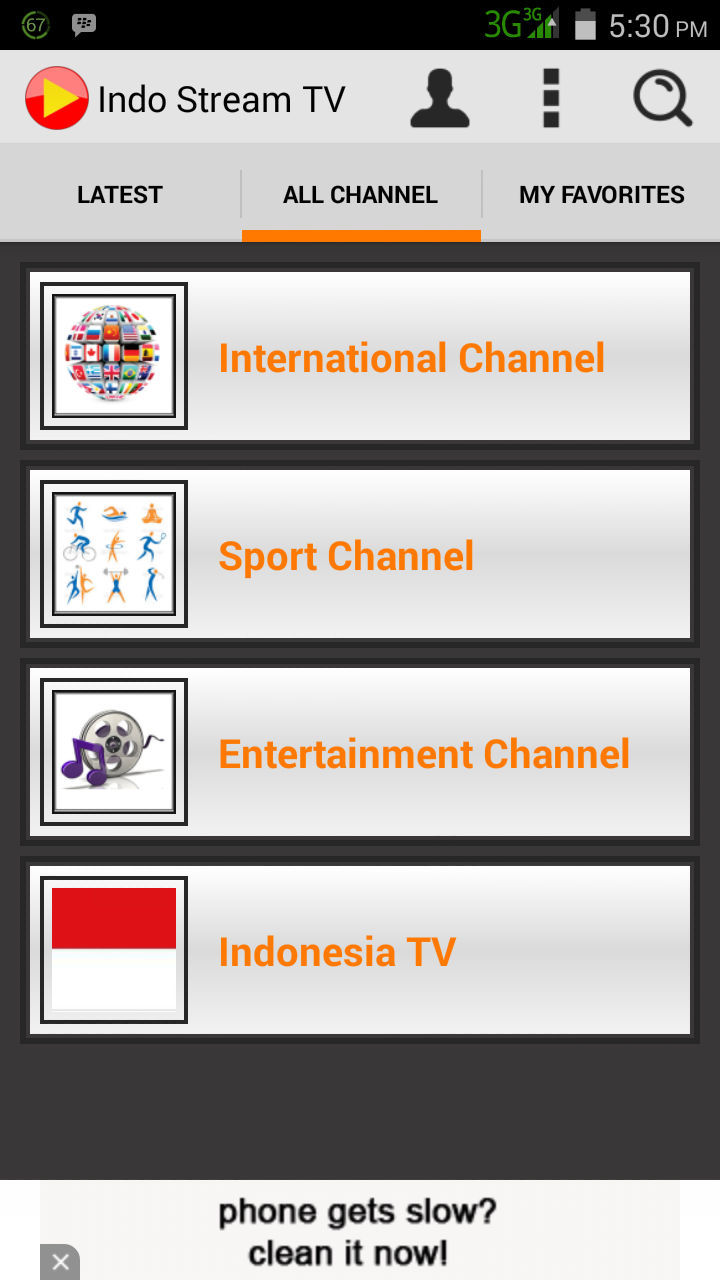 aplikasi streaming tV terbaik di android, aplikasi menonton TV di android
